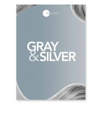 gray and silver